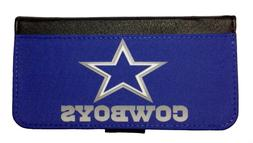 DALLAS COWBOYS SAMSUNG GALAXY & iPHONE CELL PHONE CASE LEATH