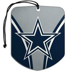 Dallas Cowboys Shield Design Air Freshener 2 Pack  NFL Fresh