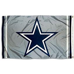 Dallas Cowboys Silver Flag and Banner