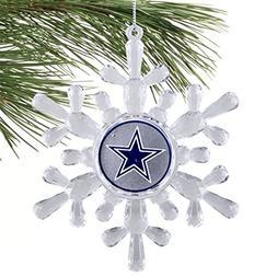 Dallas Cowboys  Snowflake Ornament