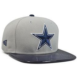 Dallas Cowboys SOLID SHINE Gray Snapback 9Fifty NFL New Era