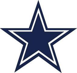 Dallas Cowboys Star Decal ~ Car / Truck Vinyl Sticker - Wall