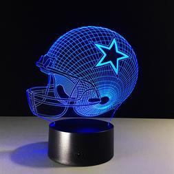 Dallas Cowboys Tony Romo Dak Prescott Ezekiel Elliott LED La