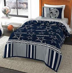 Dallas Cowboys Track Bed In A Bag Bedding Set Twin With Comf