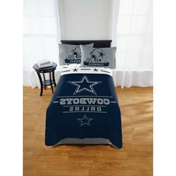 Dallas Cowboys Twin Full Bed Size Comforter Bed ~ New in Pac