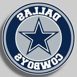 Dallas Cowboys Vinyl Sticker Decal NFL Football 9 sizes Car