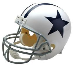 DALLAS COWBOYS WHITE Full Size Replica Helmet   - 3 TOTAL HE