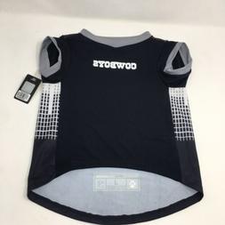 Dallas NFL Cowboys Pet Performance T-Shirt Size L