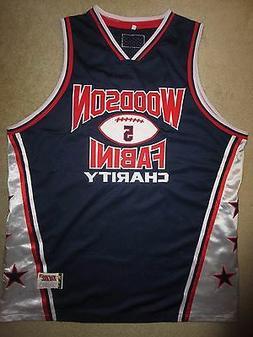 Darren Woodson Dallas Cowboys Charity Basketball Jersey XXL