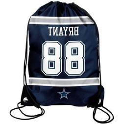 Dez Bryant #88 Dallas Cowboys Jersey Drawstring Backpack / B