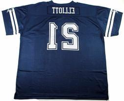 Ezekiel Elliott Dallas Cowboys #21 Men's Big & Tall Mesh Pla