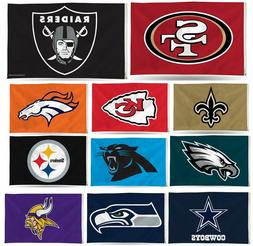 Rico Industries NFL 3'x5' Banner Flag Indoor and Outdoor