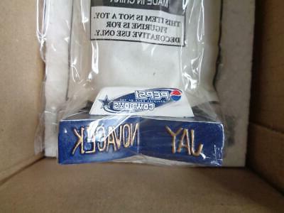 2001 Cowboys Bobblehead Nodder New in Original Boxes NFL