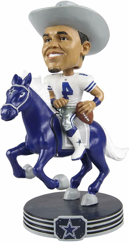 dak prescott riding a horse dallas cowboys
