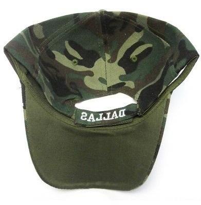 Dallas Hat Cap Script Visor Signature