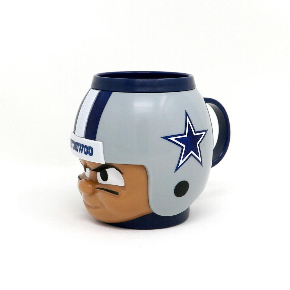 dallas cowboys 16 oz big sip helmet