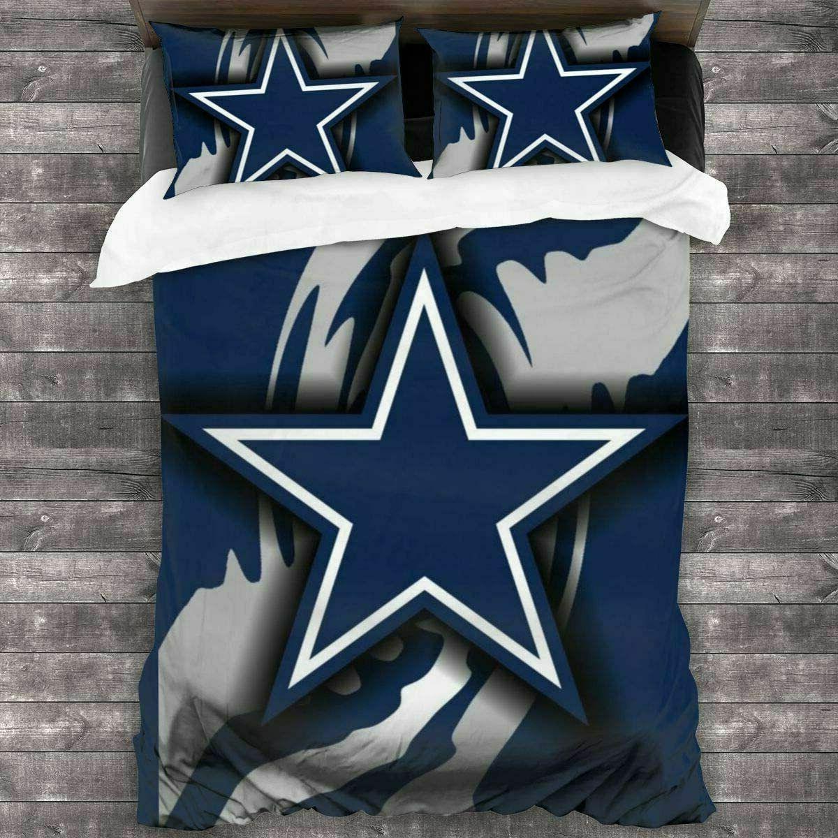 Dallas Cowboys 3PCS Set Comforter Cover US Size