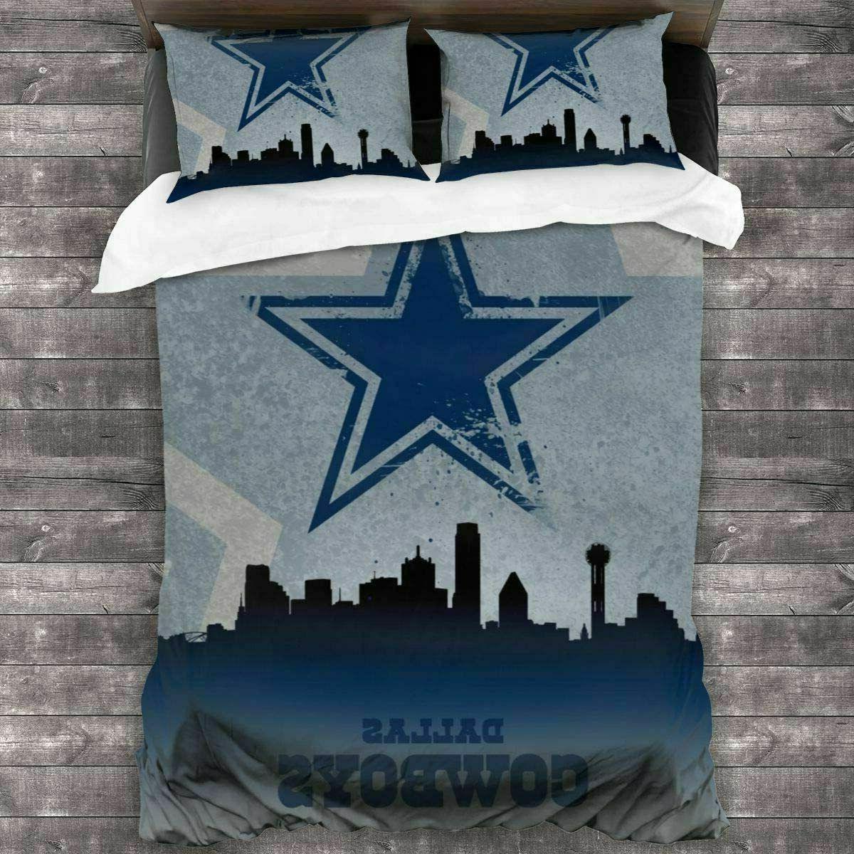 Dallas Bedding Set Comforter Cover Size