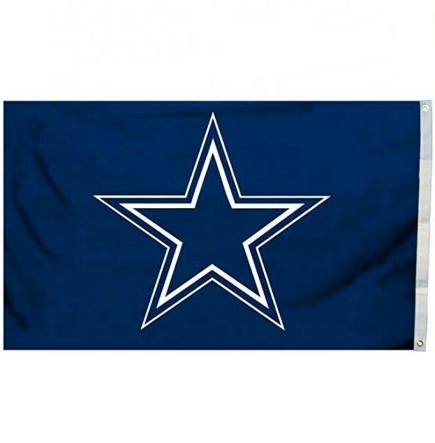 dallas cowboys 3x5 flag football blue star