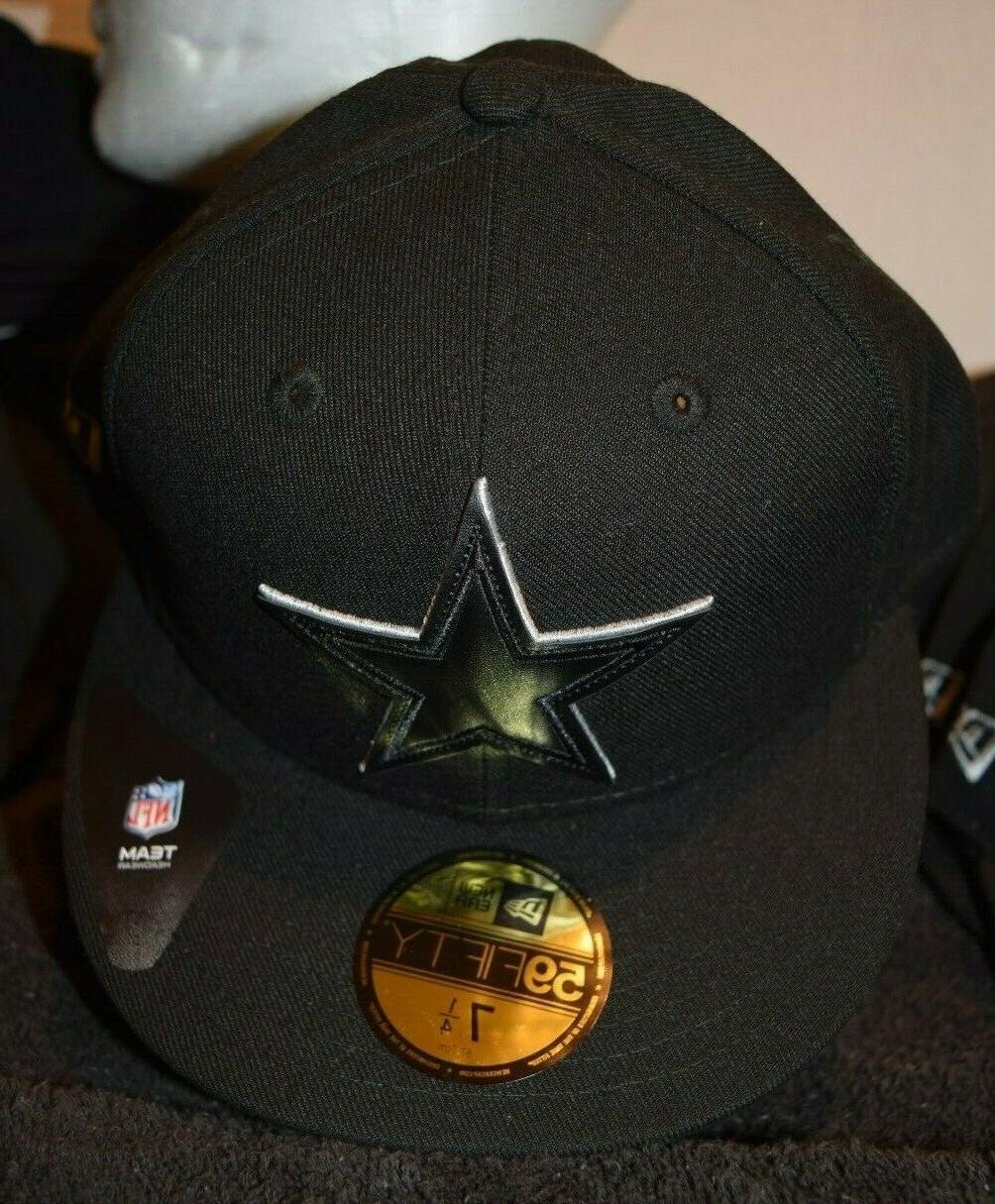 Dallas Era 59FIFTY Black Hat Cap Multi