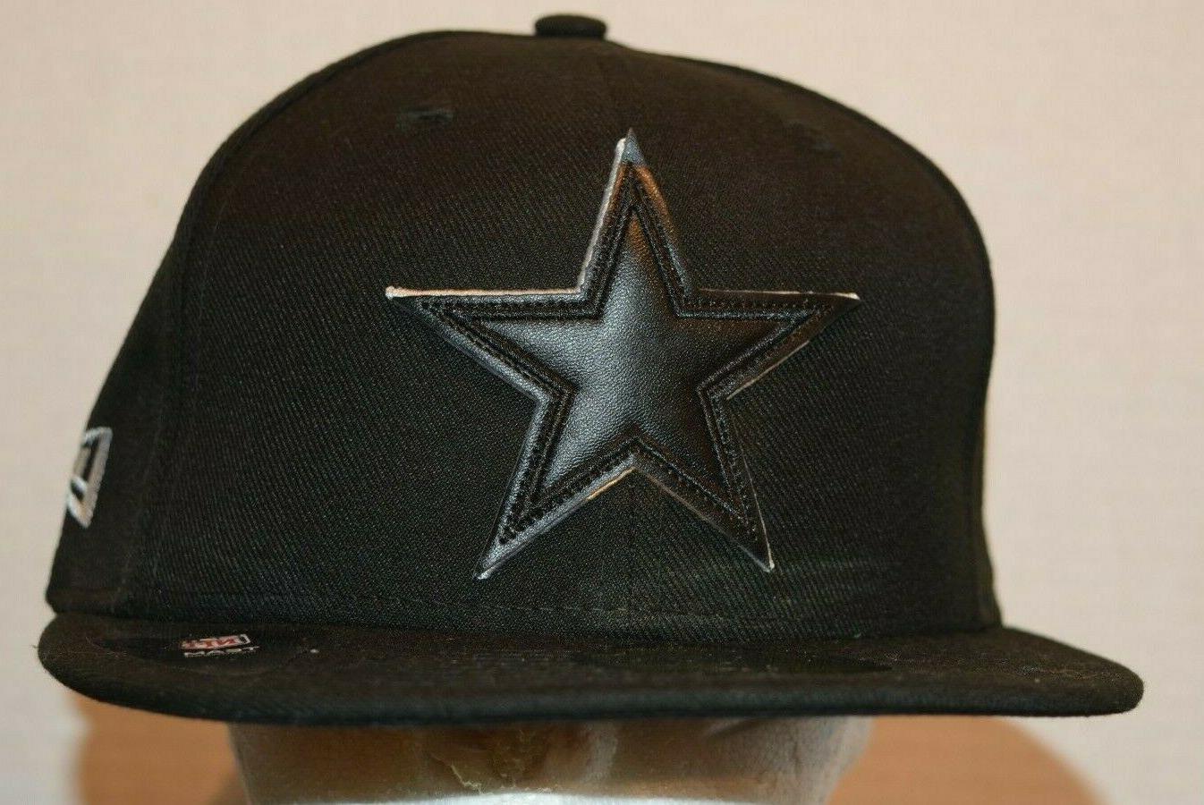 dallas cowboys 59fifty black baseball star hat