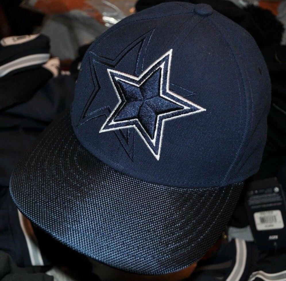 dallas cowboys 59fifty navy structured baseball hat
