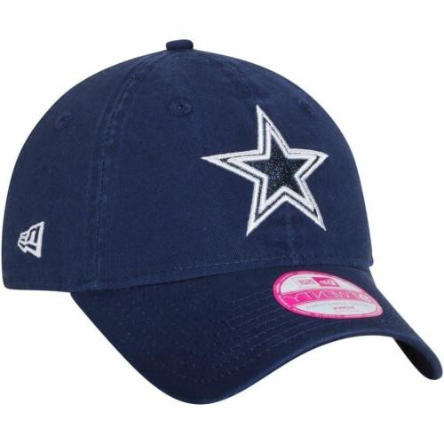 dallas cowboys 9twenty team glisten adjustable hat
