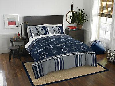dallas cowboys comforter set 5pc bed bag
