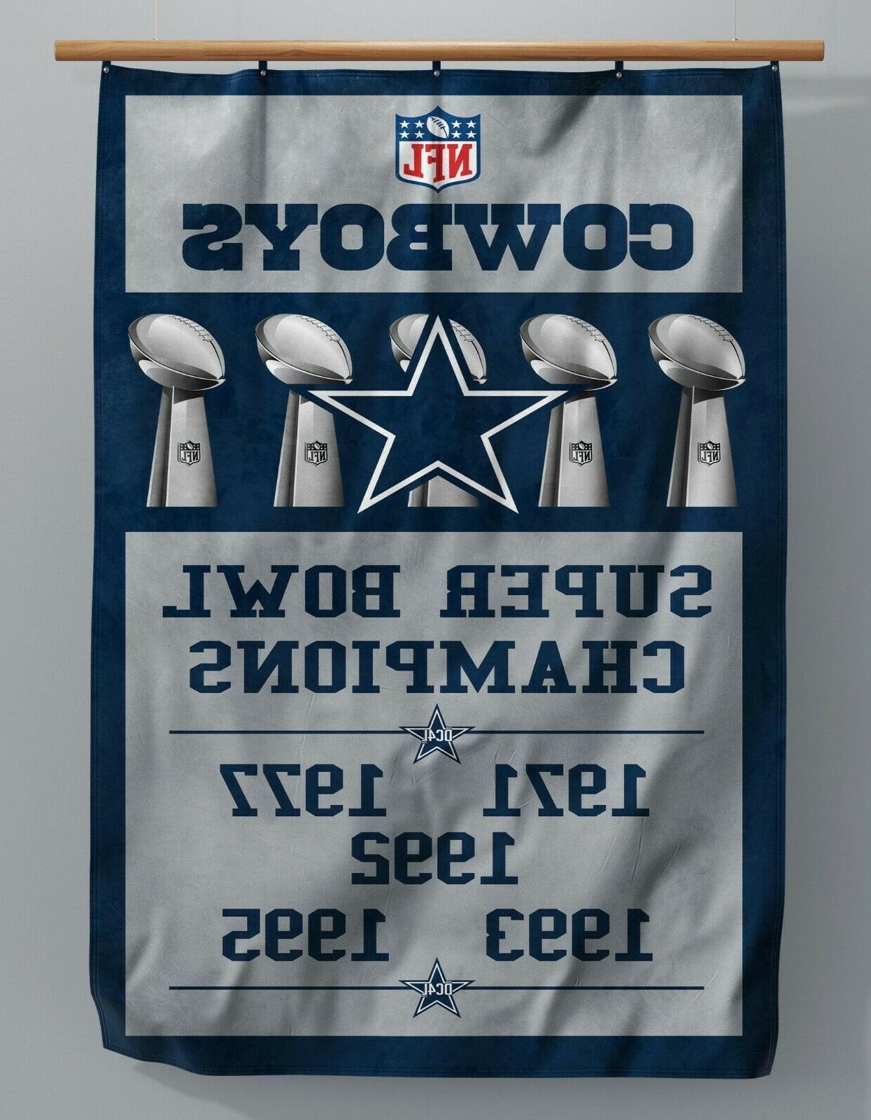 dallas cowboys custom super bowl banner 3