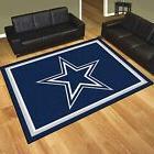 Dallas Cowboys 8' X 10' Decorative Ultra Plush Carpet Area R