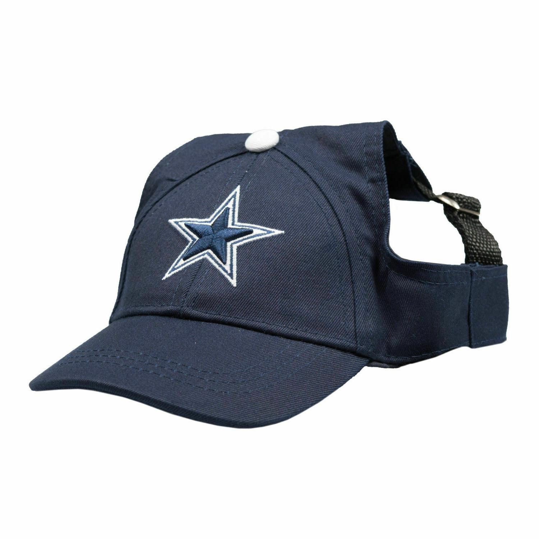 Dallas Cowboys Dog Hat Cap M SIZE MEDIUM Football NFL Adjust