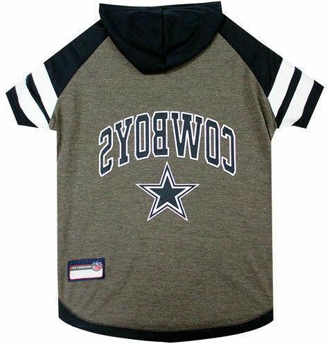 Dallas Cowboys Dog Hoodie Shirt X-SMALL Size XS Football NFL