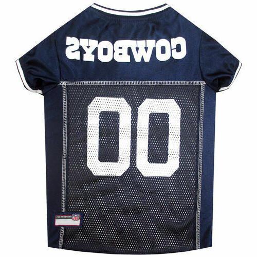 Dallas Cowboys Dog Jersey XL Size X-Large NFL Football Pet A