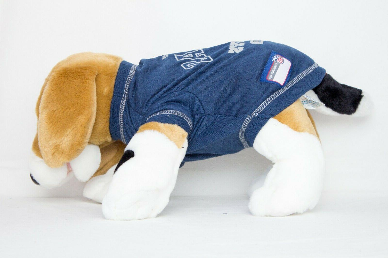Dallas Dog X-LARGE NFL T-Shirt Pet Product