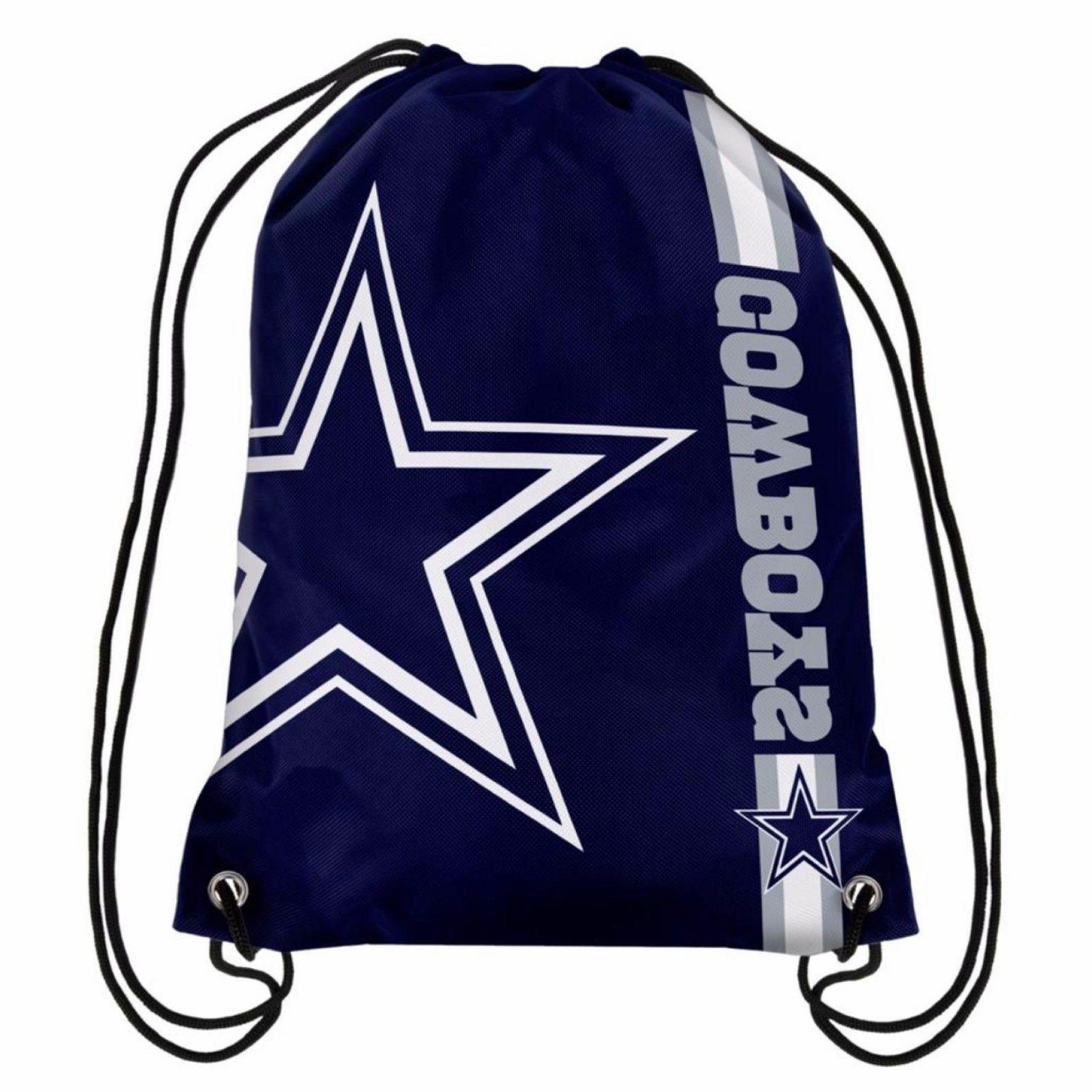 dallas cowboys drawstring bag nfl football licensed