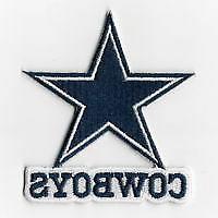 DALLAS COWBOYS Emblem Shiny SILVER STAINLESS FAN Seller