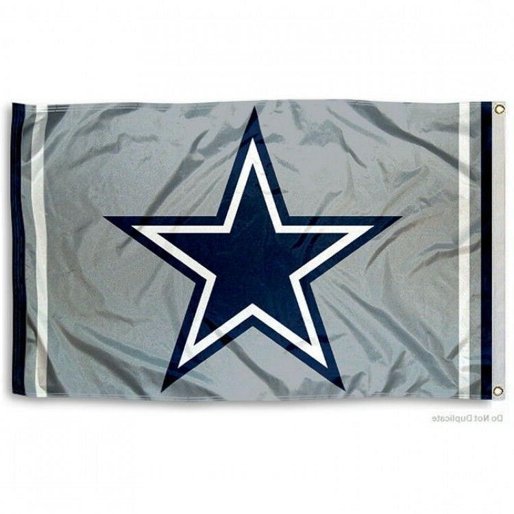 DALLAS COWBOYS FLAG 3'X5' NFL TEAM LOGO BANNER: FREE SHIPPIN
