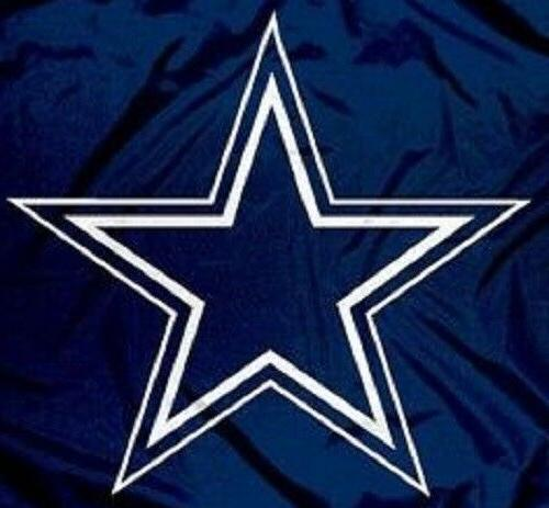Dallas Cowboys Flag Blue Large