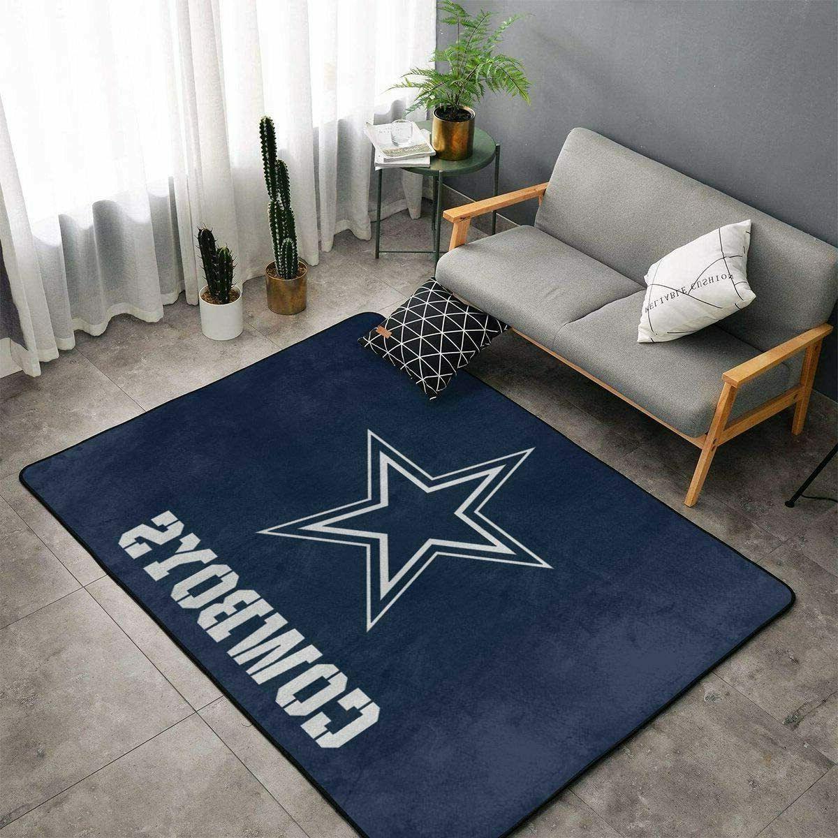 Dallas Cowboys Living Room Rugs Floor