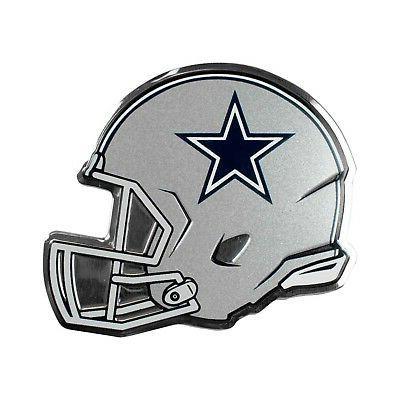 dallas cowboys helmet ce3 color chrome metal