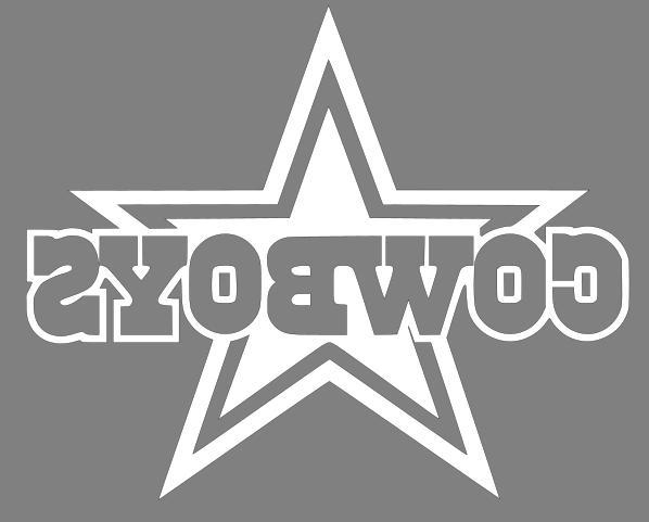 Dallas Cowboys Decal Sticker - Pick Color