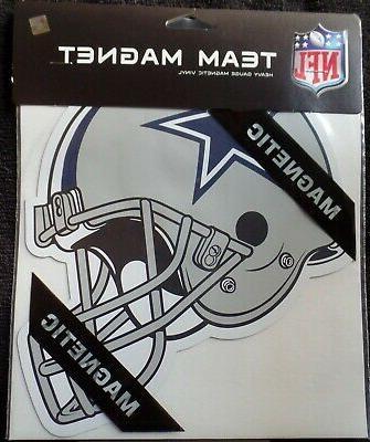 dallas cowboys magnet helmet vinyl star team