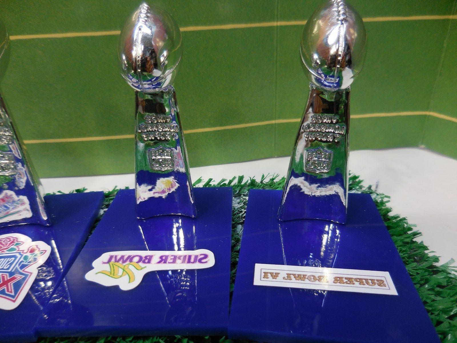 Dallas Cowboys Trophy Set