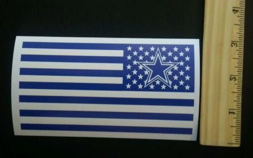 dallas cowboys nation flag nfl decals bumper