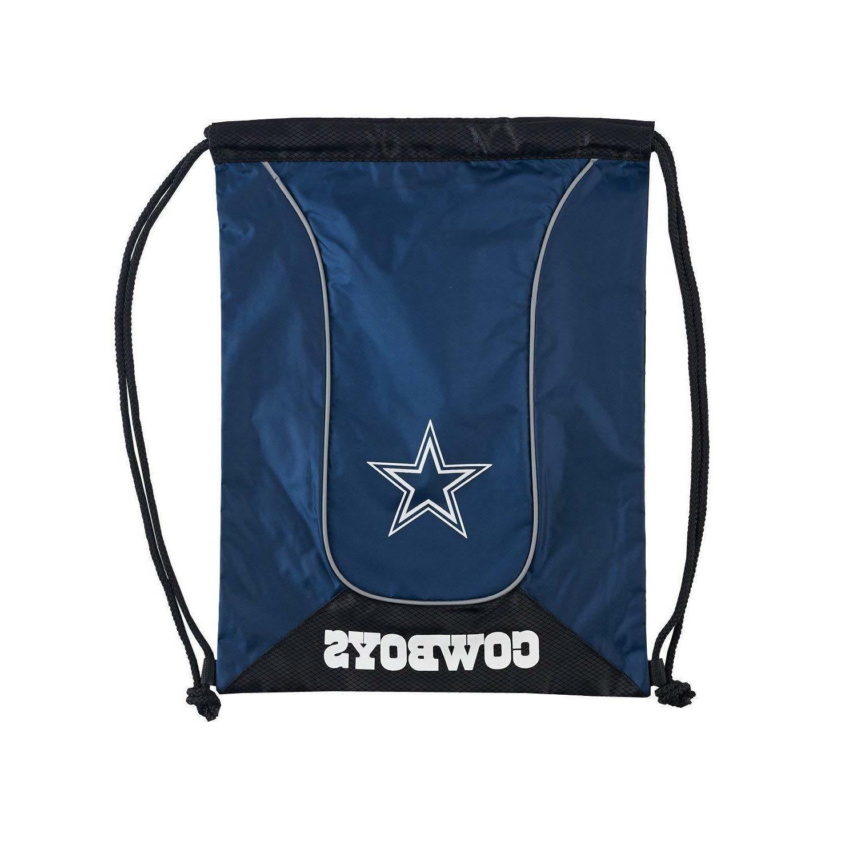 dallas cowboys nfl doubleheader drawstring backpack free