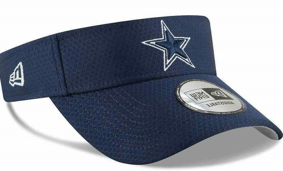dallas cowboys nfl football authentic visor hat