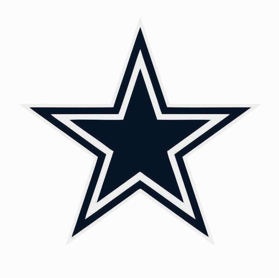 dallas cowboys nfl football color logo sports