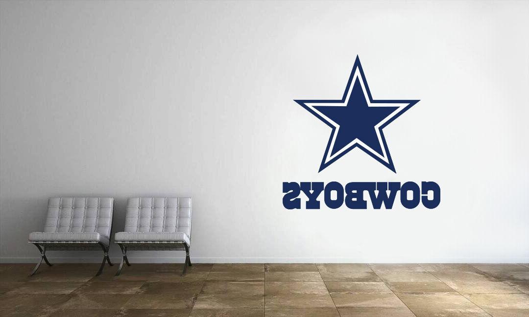 dallas cowboys nfl logo wall decal football