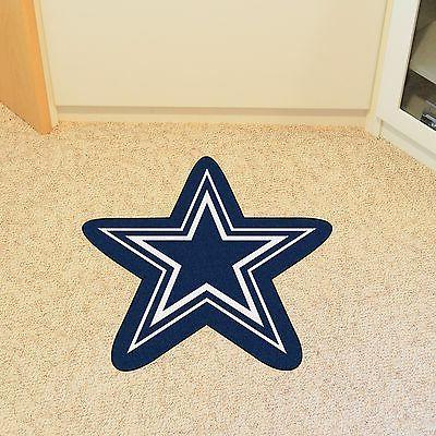 dallas cowboys nfl mascot shaped