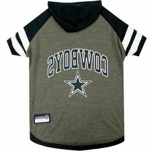 dallas cowboys pet hoodie t shirt